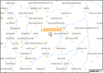 map of Longroiva