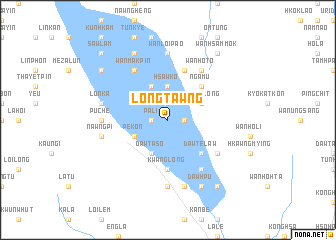 map of Longtawng