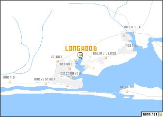 map of Longwood