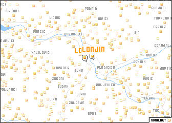 map of Lonjin