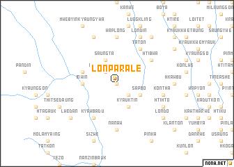 map of Lonpar Ale