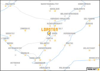 map of Lopoten\