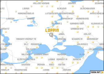 map of Loppin