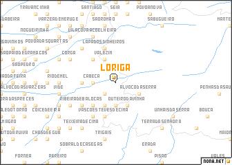 map of Loriga