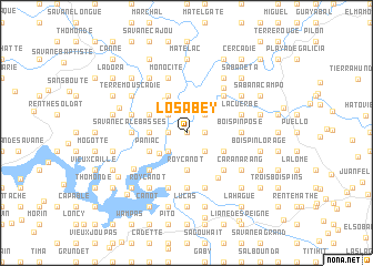 map of Los Abey