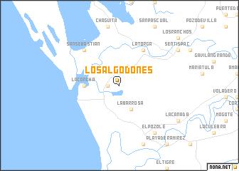 Los Algodones (Mexico) map   nona.net