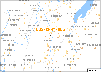 map of Los Arrayanes