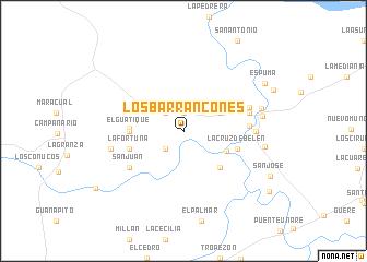 map of Los Barrancones