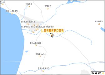 map of Los Berros