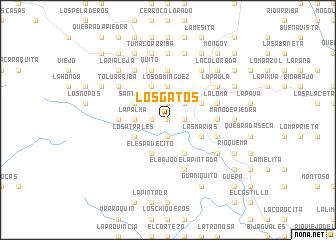 map of Los Gatos
