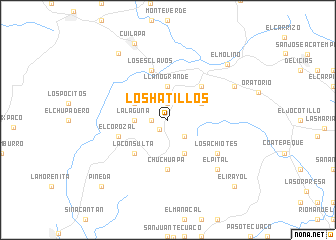 map of Los Hatillos