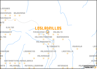 map of Los Ladrillos