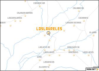 map of Los Laureles