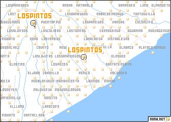 map of Los Pintos