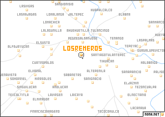 map of Los Remeros
