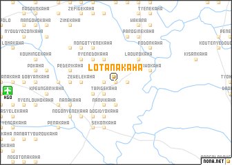map of Lotanakaha