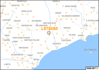 map of Lotokan