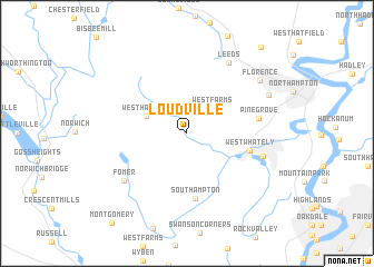 map of Loudville