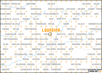 map of Loureira