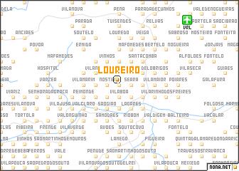 map of Loureiro