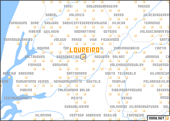 map of Loureiro