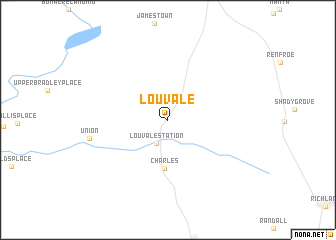 map of Louvale