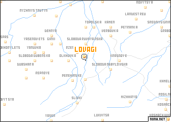 map of Lovagi