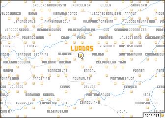 map of Luadas