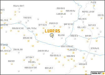 map of Luaras