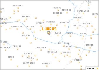 map of Luaras