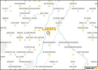 map of Lübars