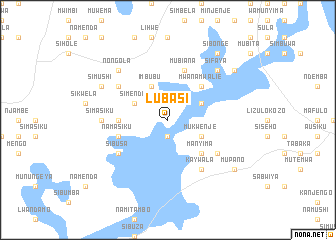 map of Lubasi