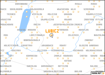 map of Lubicz