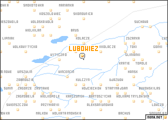 map of Lubowiez