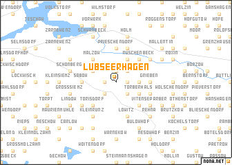 map of Lübseerhagen