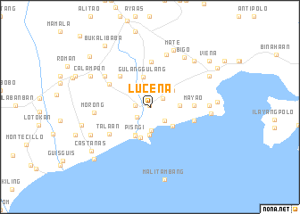 map of Lucena