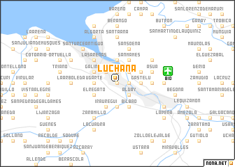 map of Luchana