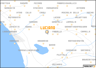 map of Luciano