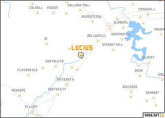 map of Lucius