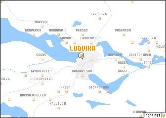 Ludvika Sweden Map Nonanet - Sweden map mora