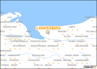 map of Ludwigsburg