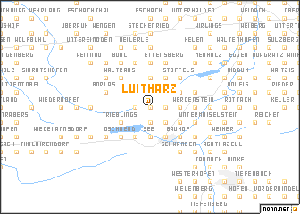 map of Luitharz