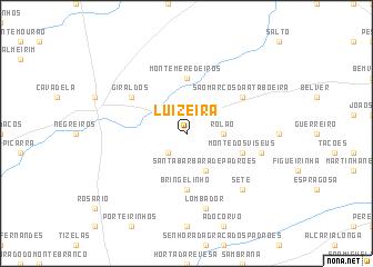 map of Luizeira