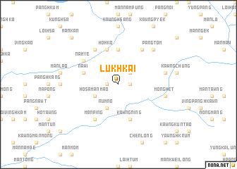 map of Lukhkai