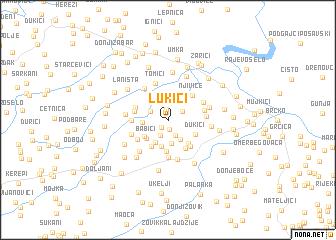 map of Lukići