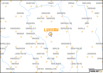 map of Lukkaw