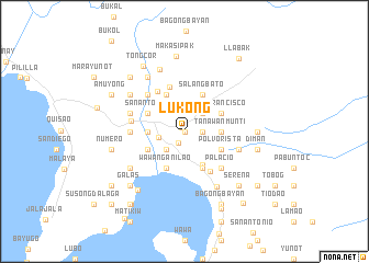 map of Lukong