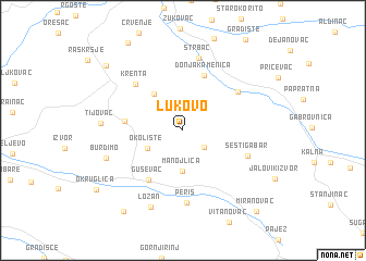 map of Lukovo