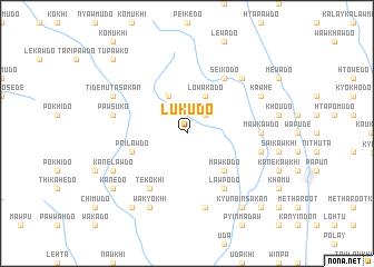 map of Lukudo