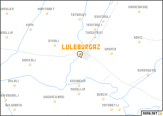 Lleburgaz Turkey map nonanet